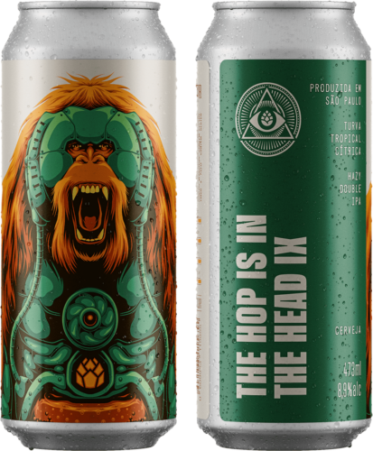 The Hop is in The Head IX lata 473ml